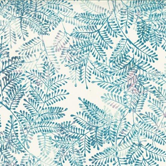 Hoffman Bali Batik R2280-D7 Fern Dusty Blue