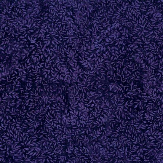 Hoffman Bali Batik - S2319 701 Ditsy Flowers Deep Amethyst