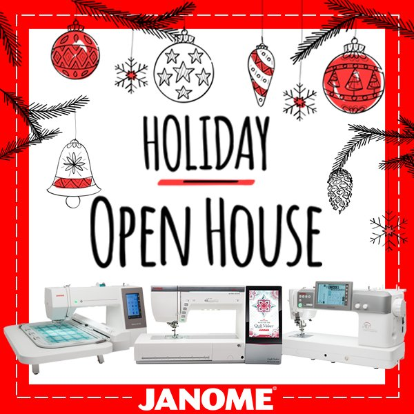 Janome Synchrony Holiday Open House Financing