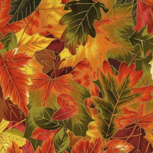 Fabri-Quilt Falls Tapestry Leaves 112-26831