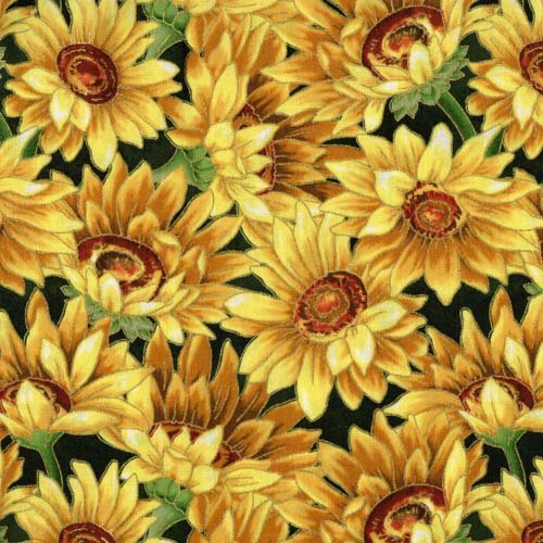 Fabri-Quilt Golden Harvest Sunflower 112-30861