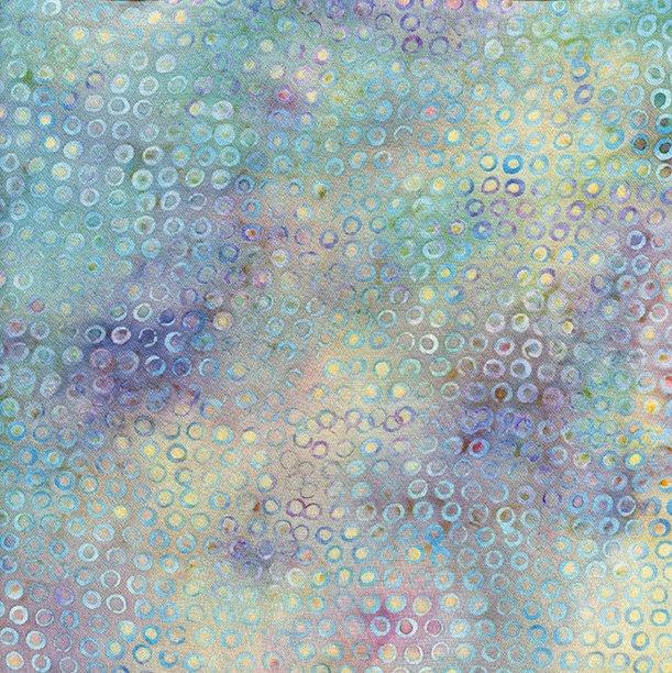 Island Batik RAYON BATIK: Aquarius Sea
