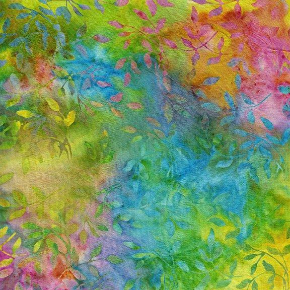 Island Batik RAYON BATIK: Spring Alive