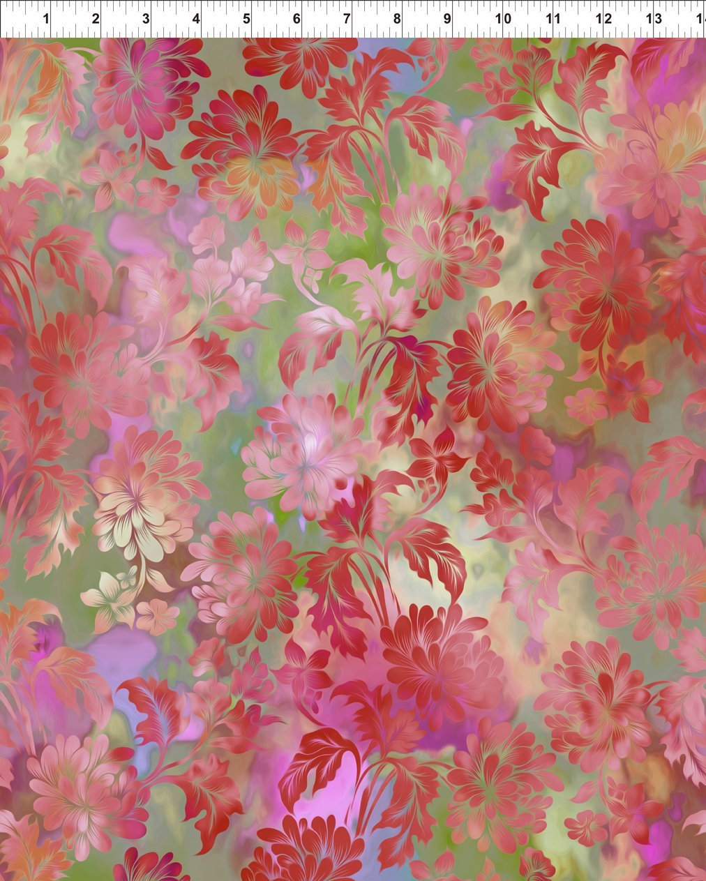 DIAPHANOUS  2ENC2 DAYDREAM - BLUSH by In The Beginning Fabrics