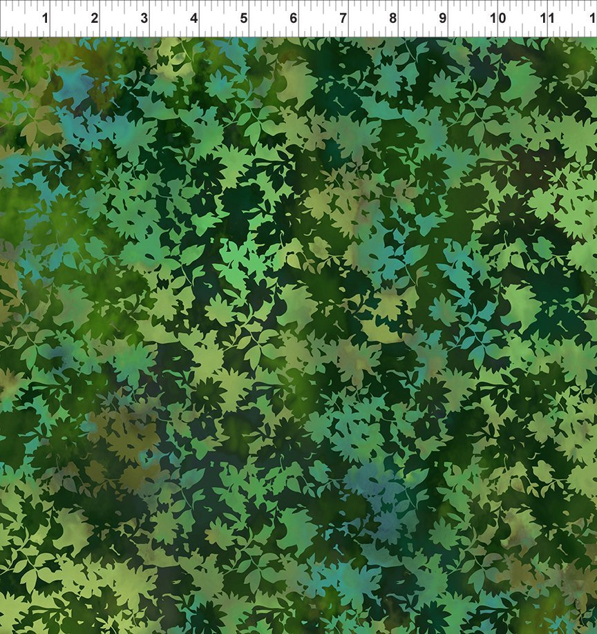 SEASONS 6SEA3 FIELD - GREEN by In The Beginning Fabrics