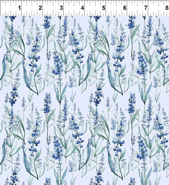 In The Beginning Fabrics - Leah Collection 7TLC1 Lavender Digital Print
