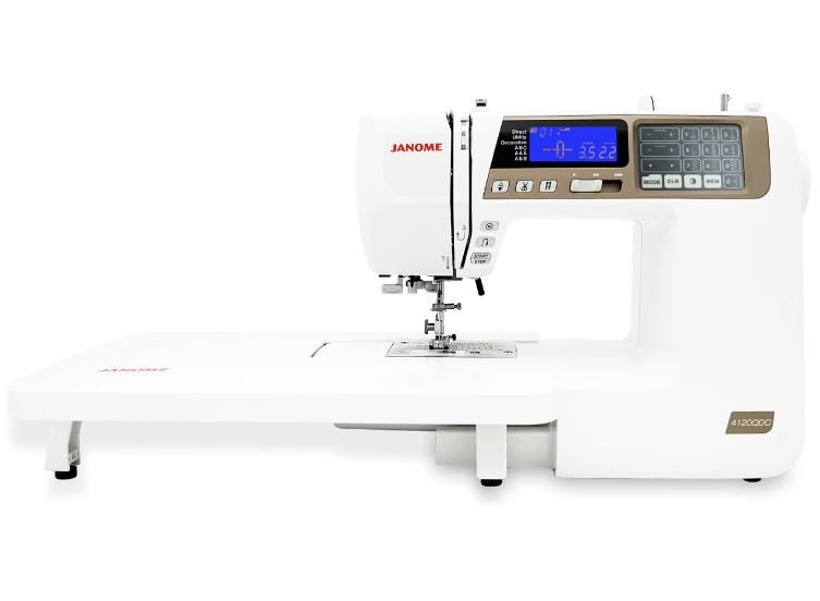 Janome 4120 QDC-T GOLD:  SHIPPED TO YOU or IN-STORE PICKUP