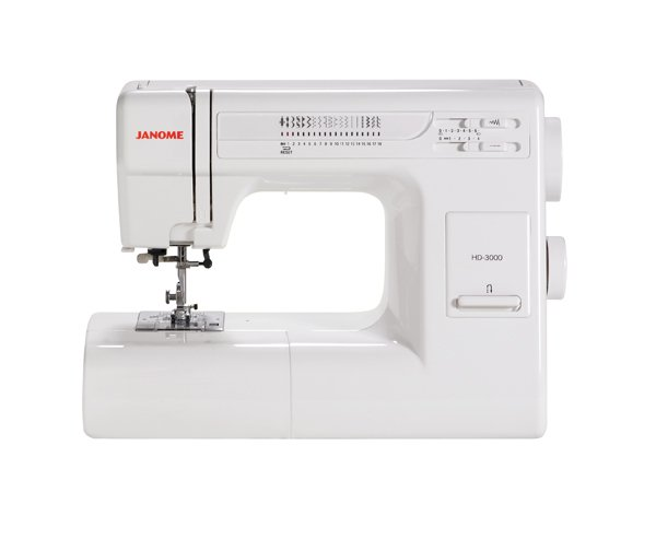 Janome HD 3000 Heavy-Duty Sewing Machine