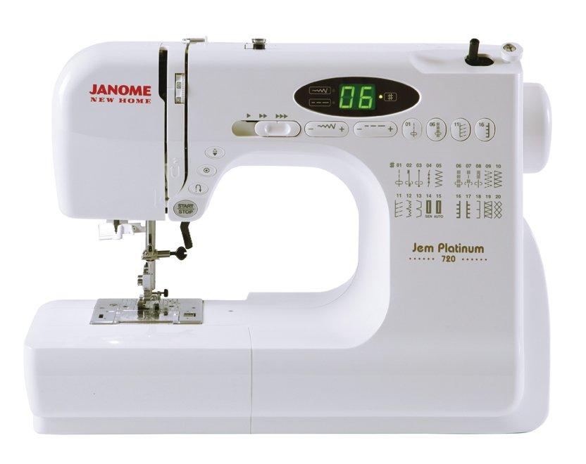 Janome new home jnh jem platinum sewing machine