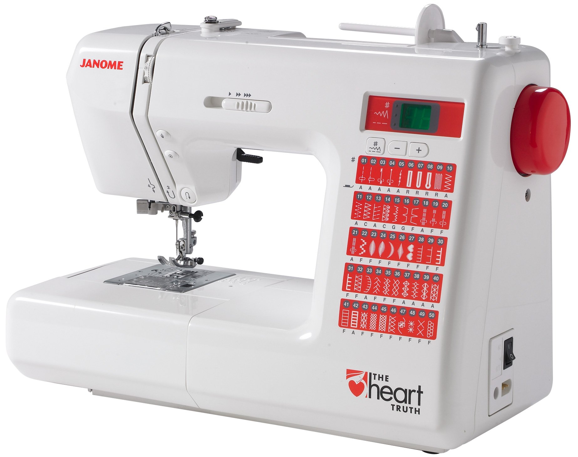 Pre Owned Janome Ht2008 Heart Truth Machine