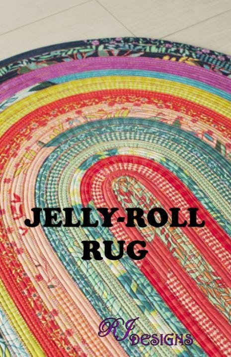 Jelly Roll Rug Pattern Make A Rug Out Of 2 1 2 Strips