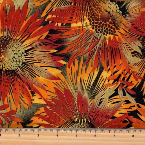 Kanvas Sun Valley | Sun Dance Rust Sunflower 8648m-88