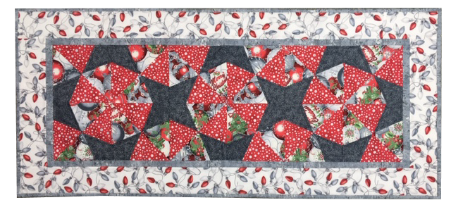 Kaleidescope Christmas Table Runner Kit