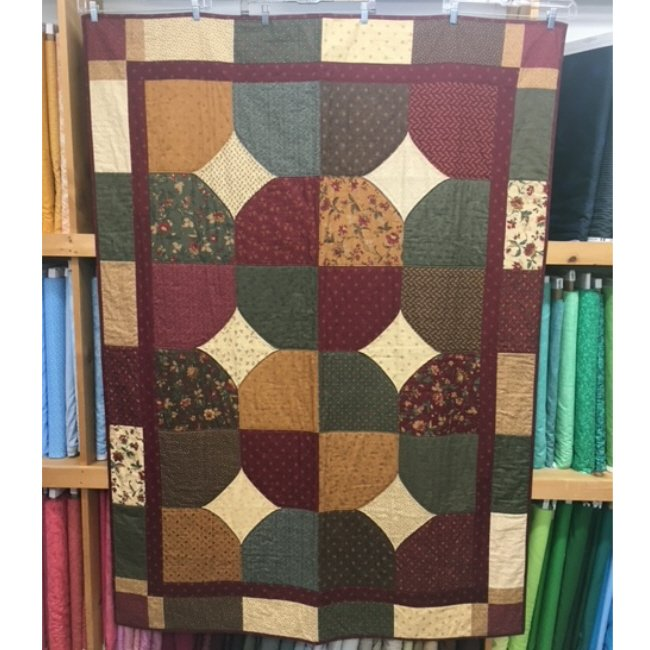Quilt for Sale: Kansas City feat. Kansas Troubles fabrics by Moda