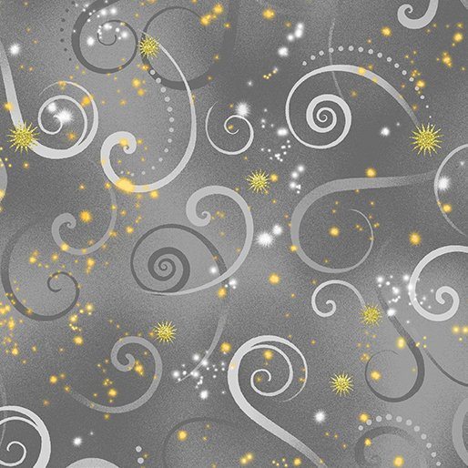 Dragonfly Dance - Kanvas Studio | Swirling Sky Dove Gray 8500M-13
