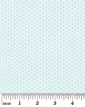 Benartex - Dimity Dot 710-55 ROBINS EGG