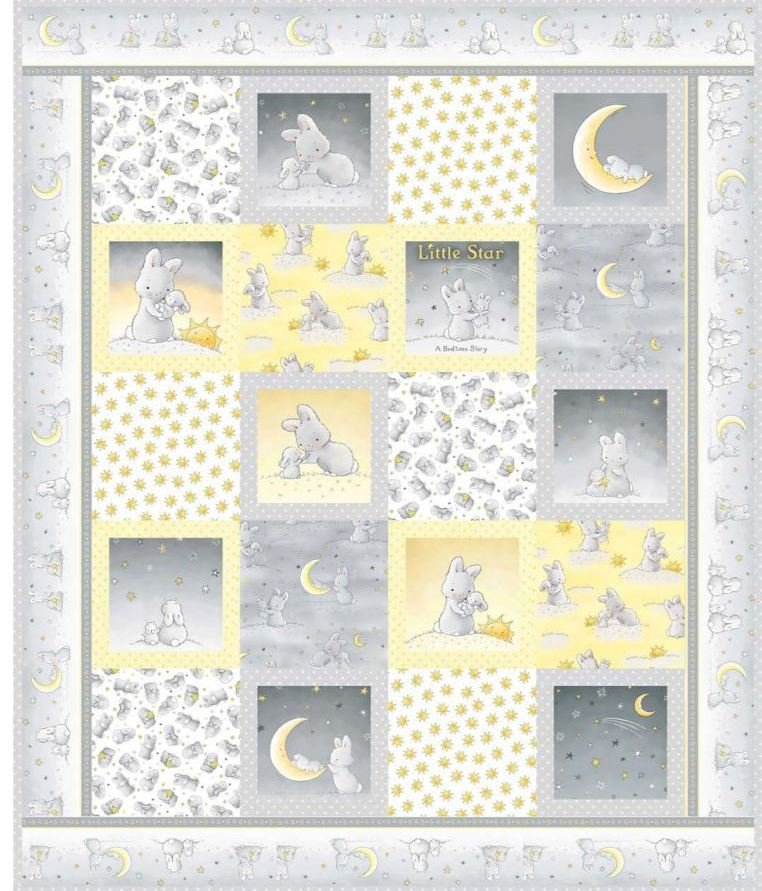 Cobbles Quilt Kit featuring Little Star fabrics by Bunnies By The Bay
