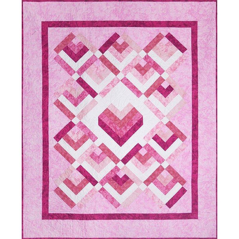 Love and Comfort Pre-Cut Quilt Kit | RJR Fabrics