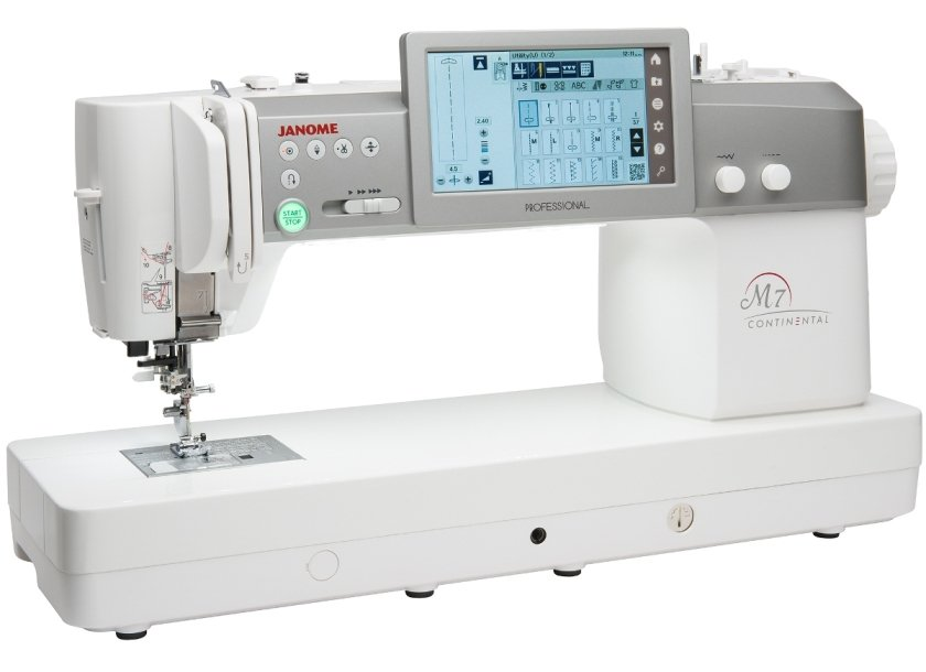 Janome Continental M7 Professional Quilting and Sewing Machine