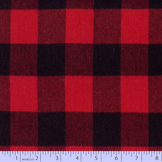 Marcus Primo Plaid Flannels: Classics R09-U112-0111 Buffalo Plaid