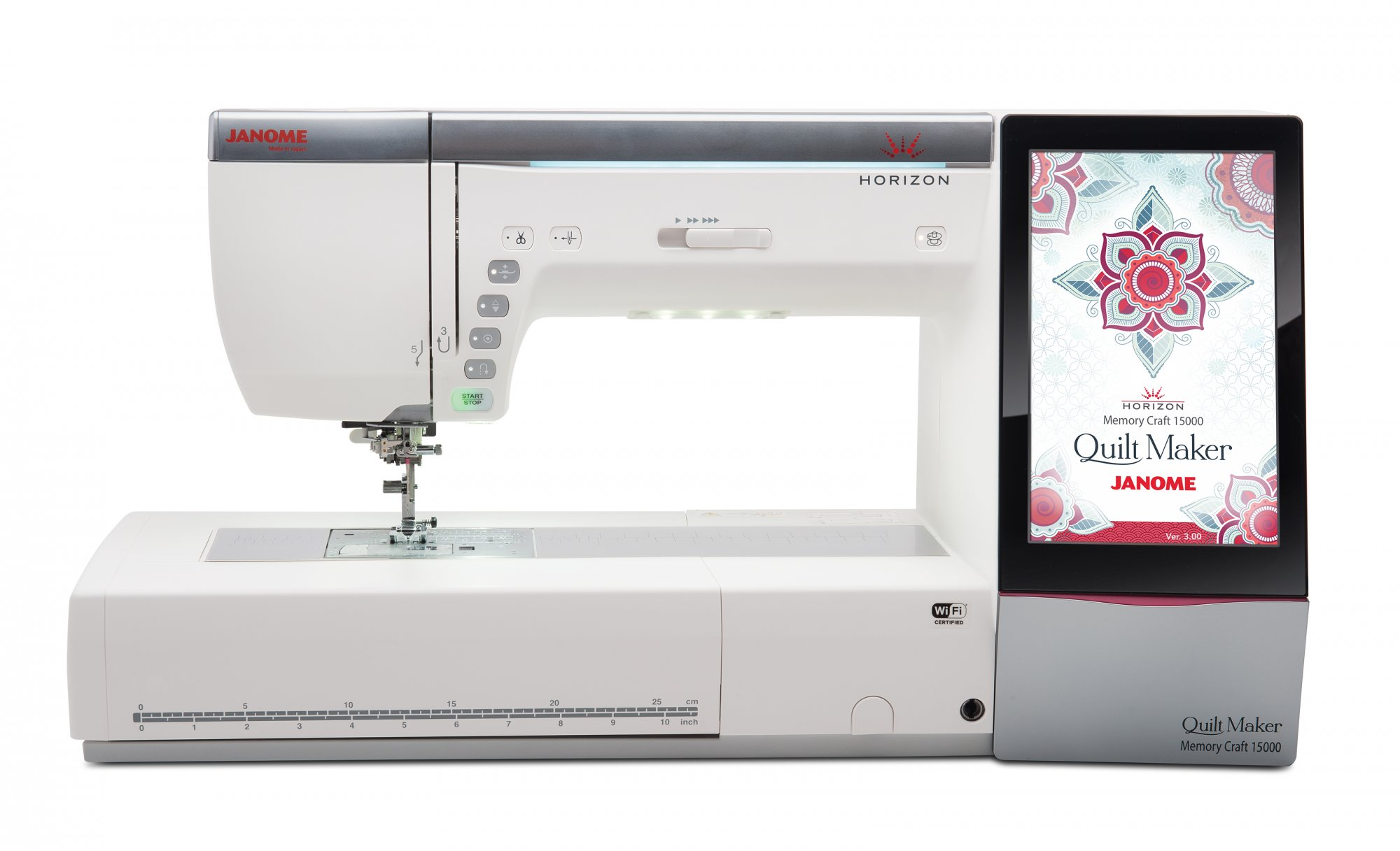 Janome Horizon Quilt Maker Memory Craft 15000 | Quilting-Sewing-Embroidery