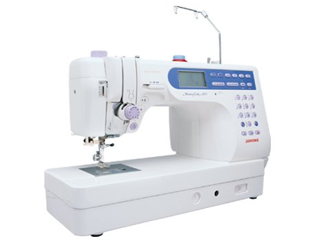 PRE-OWNED Janome Memory Craft 6500 Professional Sewing and Quilting Machine WITH LUCITE EXTENSION TABLE
