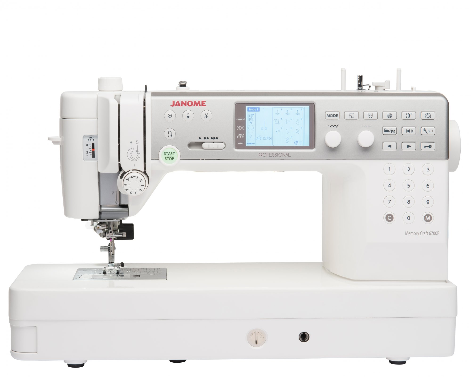 NEW! Janome Memory Craft 6700P
