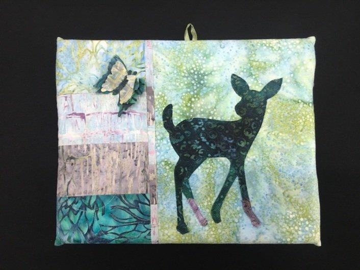 For Sale:  Deer Butterfly Wall Art - McKenna Ryan Hearts a Flutter
