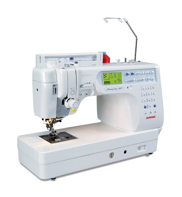 Janome Memory Craft 6600 Professional Sewing and Quilting Machine