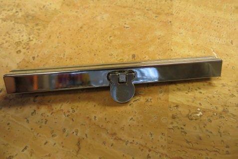 Diva Wallet Frame 4 1/2 - Silver