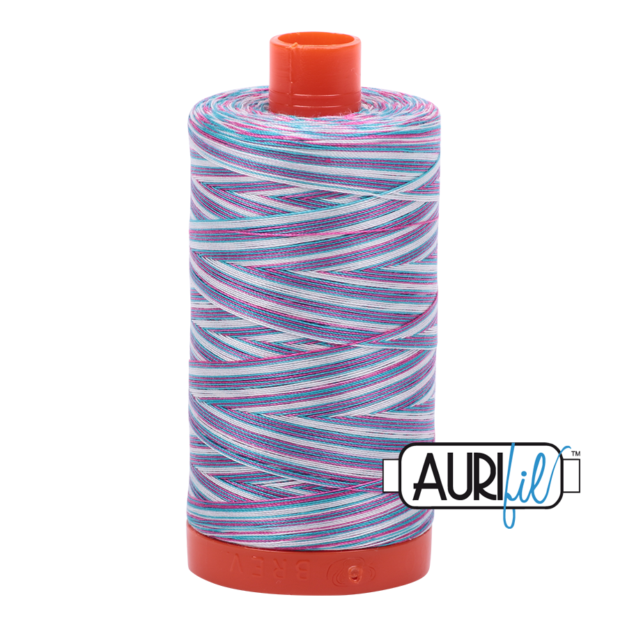 Aurifil Mako Cotton Thread Solid 50wt 1422 yds Berrylicious 4647