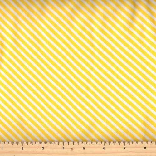 Moda Dot Dot Dash 22267 12 Diagonal Stripe Yellow