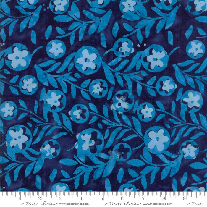 Moda Calypso Batiks by Kate Spain RAYON 54 wide 27258 32R Lagoon