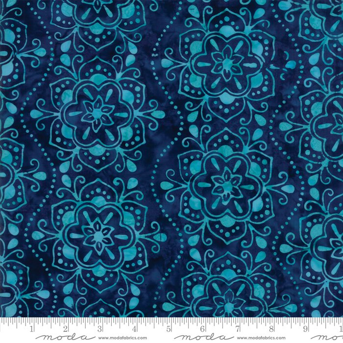 Moda Calypso Batiks by Kate Spain RAYON 54 wide 27258 67R Lagoon