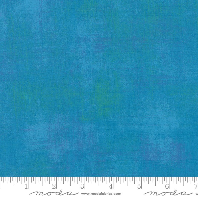 Moda Grunge 108 11108 298 Turquoise - Wide Backing Fabric