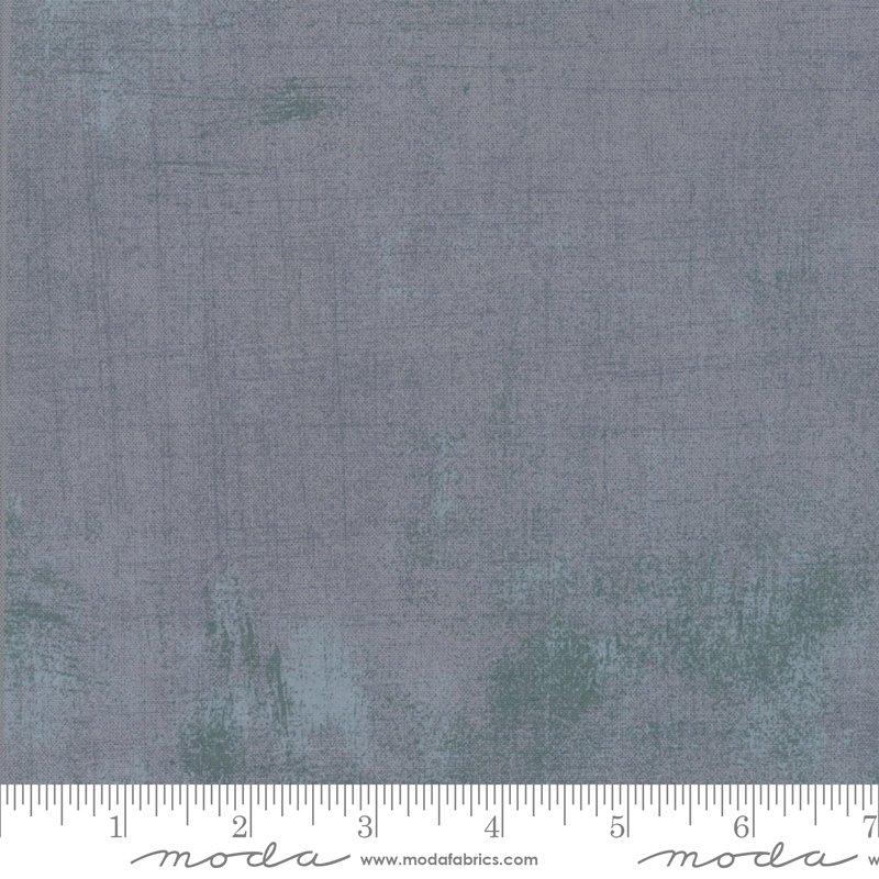Moda Grunge 108 Wide  11108 400 Smoke - Wide Backing Fabric