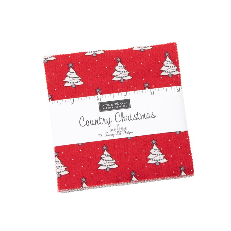 Moda Country Christmas 2960PP Charm Pack 5 squares 42pcs by Bunny Hill Designs