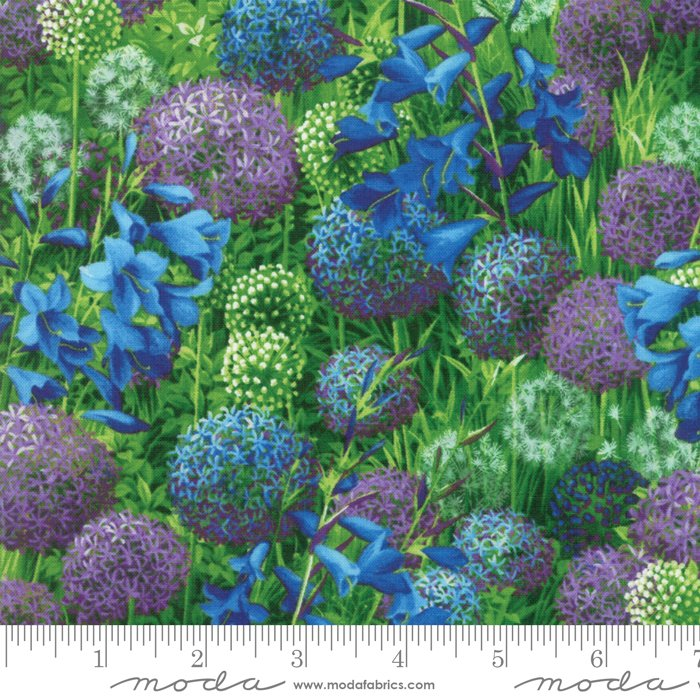Moda Wildflowers IX  - Bluebell Allium Field of Flowers 33380-14