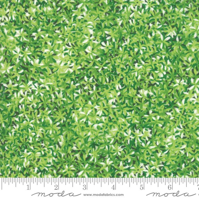 Moda Wildflowers IX  - Leaf 33384-15 Green
