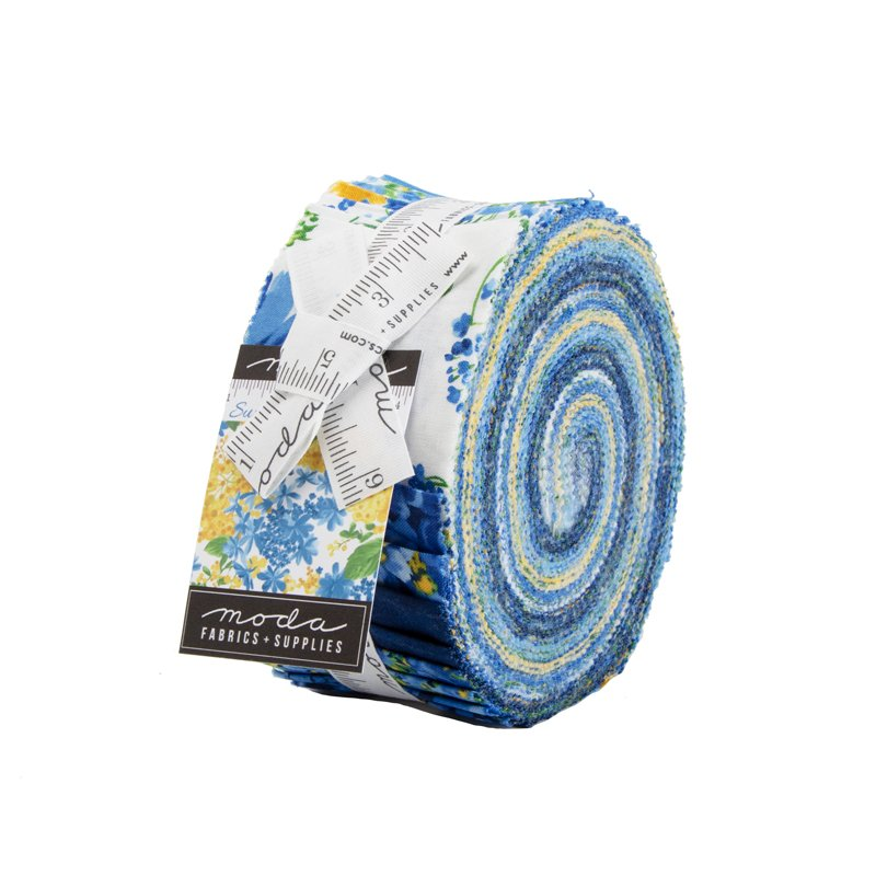*Moda | Summer Breeze 2019: - 33440JR Jelly Roll - 40 assorted strips