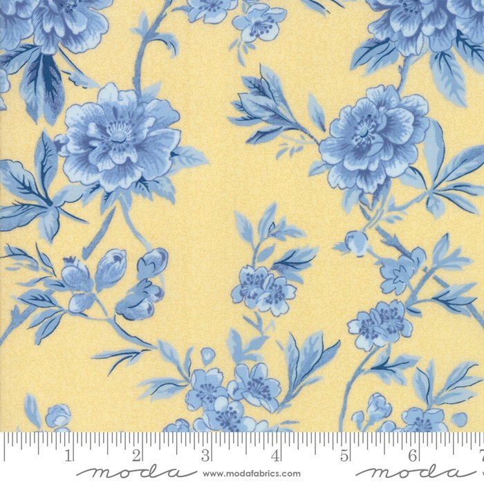 Moda- Regency Ballymore Chintz - Sudbury Yellow 42320-21