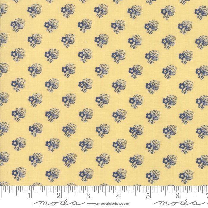 Moda- Regency Ballymore Chintz - Sudbury Yellow 42326-11