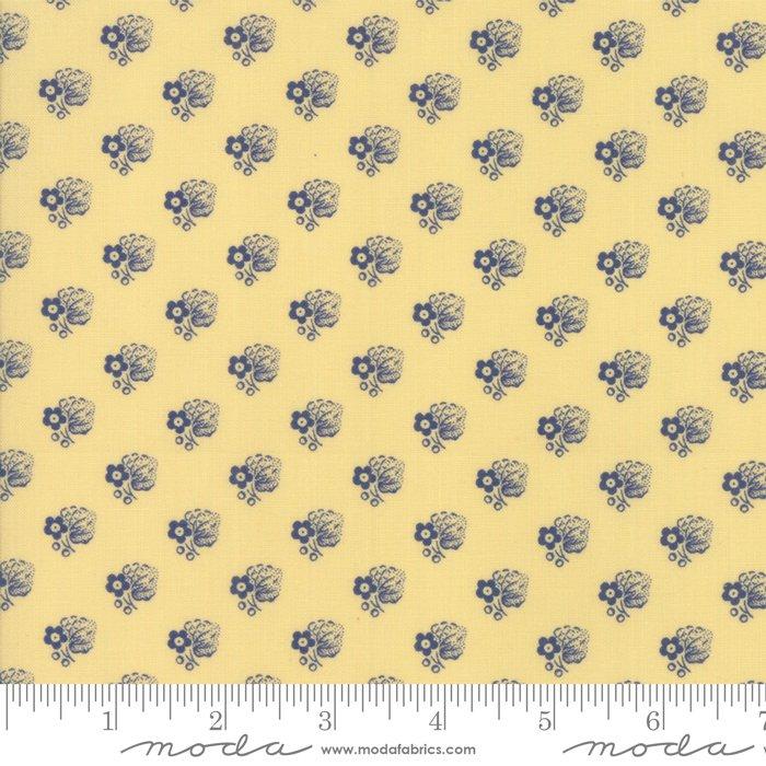 Moda- Regency Ballymore Chintz - Sudbury Yellow 42326-11