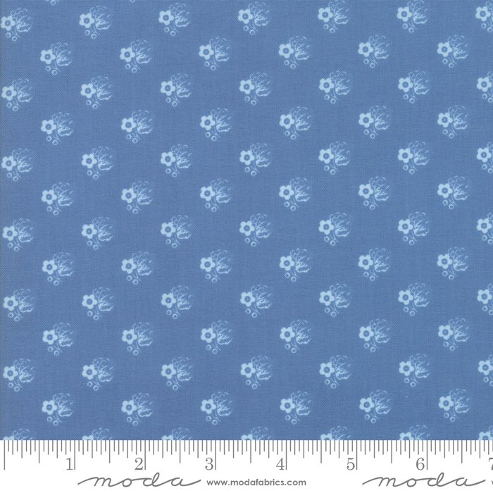 Moda- Regency Ballymore Chintz - English Blue 42326-13