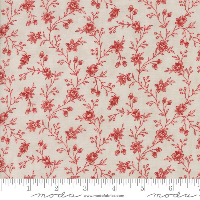 Moda Snowberry | 3 Sisters | Cloud Berry 44143-12