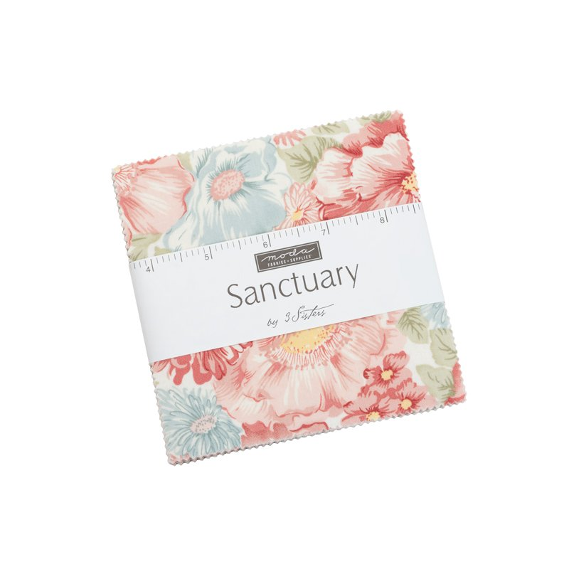 Moda SANCTUARY Charm Pack by 3 Sisters - 42 pieces 5x5