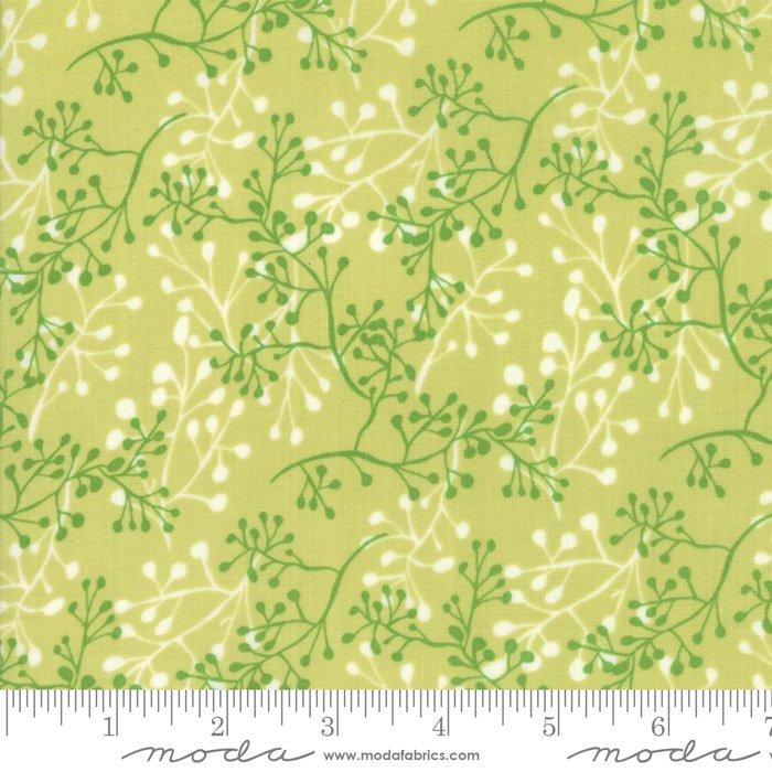 Moda | Painted Meadow 48663 13 Modern Little Sprigs Green