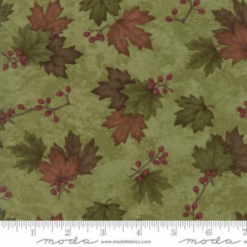 Moda Country Road Moss Green 6668-23