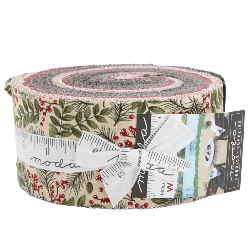 Moda - Winter Manor Jelly Roll 6770JR - 40 strips cut 2.5 inches