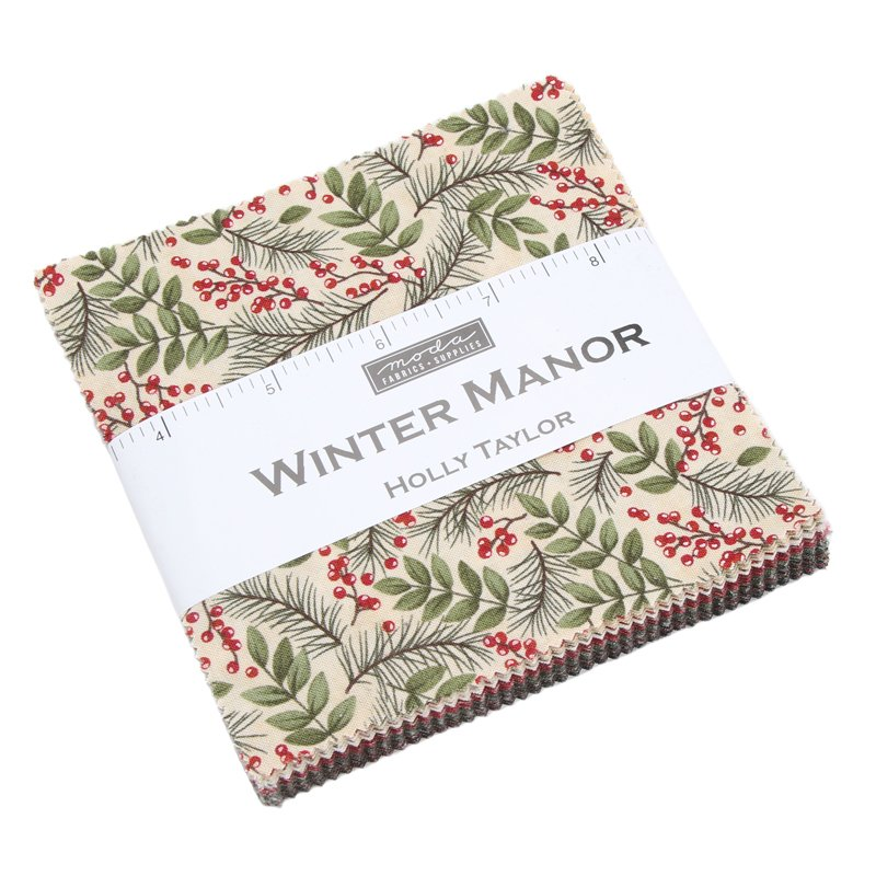 Moda - Winter Manor Charm Pack 6770PP - 42 pieces cut 5 square